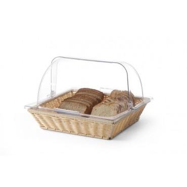 Koszyk do pieczywa z pokrywą ROLLTOP pokrywa Rolltop