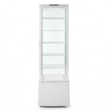 Witryna chłodnicza nastawna 280L 280L biały