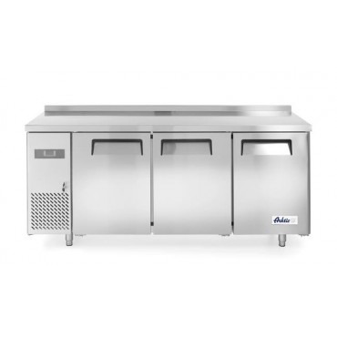 Stół chłodniczy Kitchen Line 3-drzwiowy z agregatem bocznym, linia 600