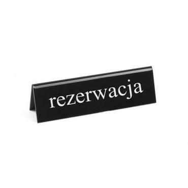 """Tabliczka informacyjna """"Rezerwacja"""" RU"""