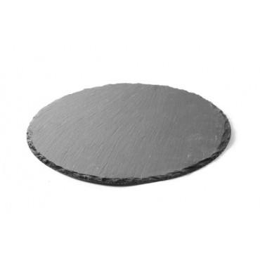 Płyta łupkowa - okrągła zestaw 2 szt. śr. 250 mm