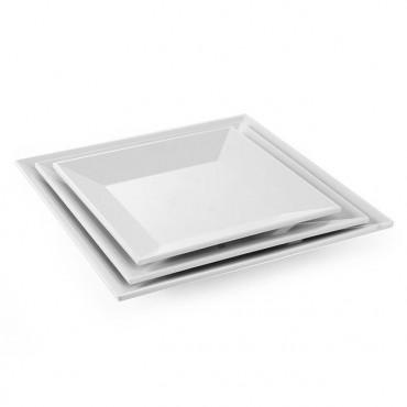 Talerz kwadratowy z melaminy 355x355 mm