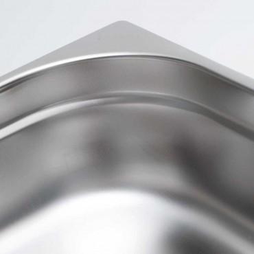 Pojemnik stalowy, Eco, GN 1/1, H 40 mm