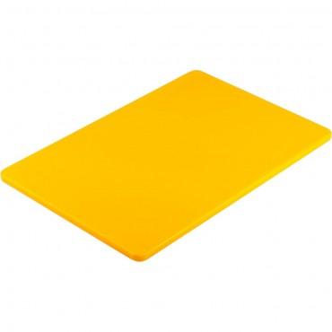 Deska do krojenia HACCP, 450x300 mm żółta