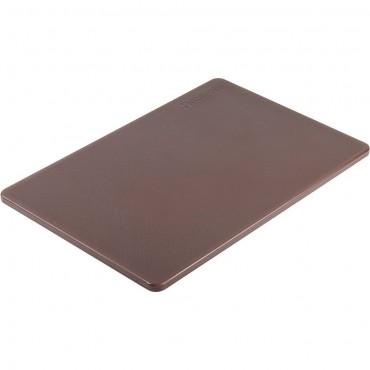 Deska do krojenia HACCP, 450x300 mm brązowa