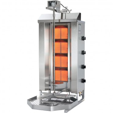 Gyros, kebab gazowy, GD 5, P 17.5 kW, G 30