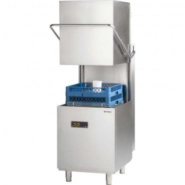 Zmywarko wyparzarka, kapturowa, dozownik płynu myjącego, P 6.8 kW, U 400 V