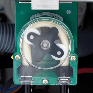 Zmywarko wyparzarka do garnków i tac, LP57  z dozownikiem płynu myjącego i nabłyszczającego oraz systemem stabilizującym ciśnien