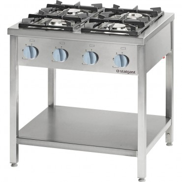 Kuchnia gazowa, 4-palnikowa, 700 mm, 24.0 kW, G20