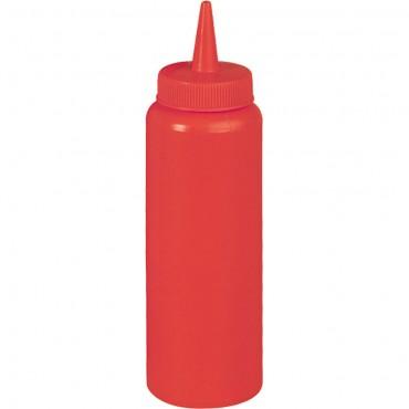 Dyspenser do sosów, czerwony, V 0.7 l