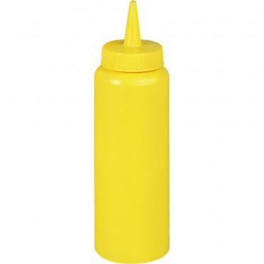 Dyspenser do sosów, żółty, V 0.7 l