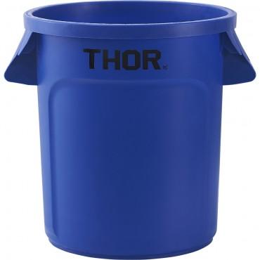 Pojemnik uniwersalny na odpadki, Thor, niebieski, V 38 l