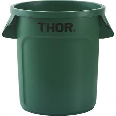 Pojemnik uniwersalny na odpadki, Thor, zielony, V 38 l