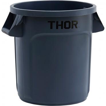 Pojemnik uniwersalny na odpadki, Thor, szary, V 38 l