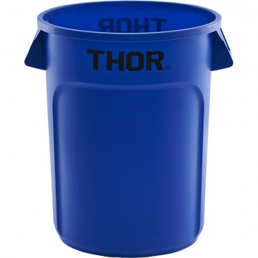 Pojemnik uniwersalny na odpadki, Thor, niebieski, V 120 l