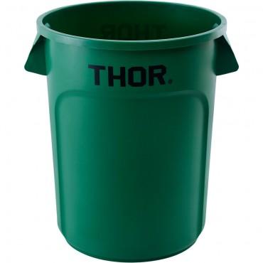 Pojemnik uniwersalny na odpadki, Thor, zielony, V 120 l