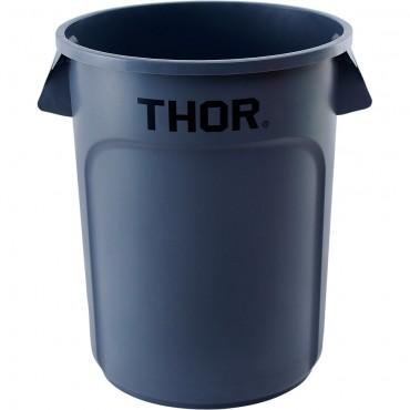 Pojemnik uniwersalny na odpadki, Thor, szary, V 120 l