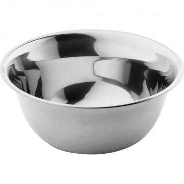 Miska kuchenna, stalowa, polerowana, ø 360 mm, V 11.5 l