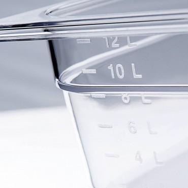 Pojemnik z poliwęglanu, GN 1/2, H 100 mm