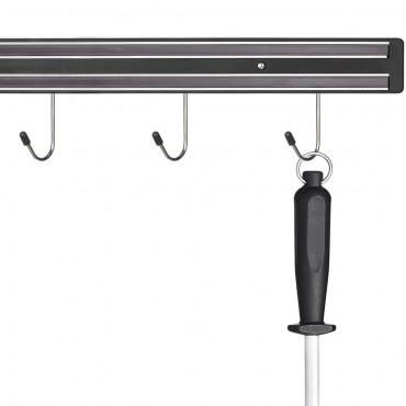 Listwa magnetyczna z haczykami, L 330 mm