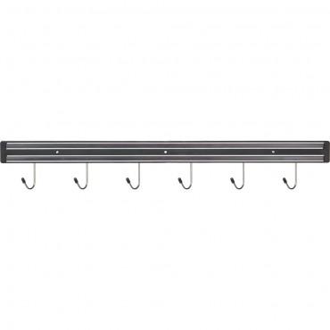 Listwa magnetyczna z haczykami, L 625 mm