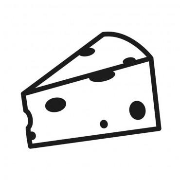 Nóż do serów miękkich, biały, L 150 mm
