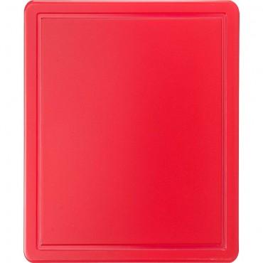 Deska do krojenia HACCP, GN 1/2 czerwona