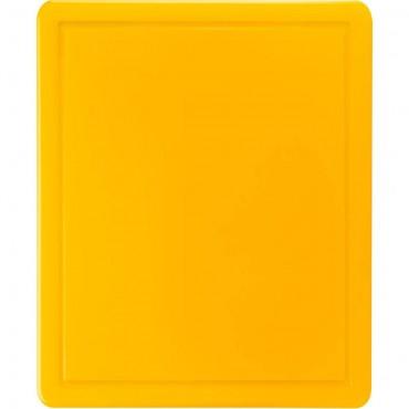 Deska do krojenia HACCP, GN 1/2 żółta