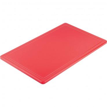 Deska do krojenia HACCP, GN 1/1 czerwona