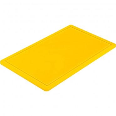 Deska do krojenia HACCP, GN 1/1 żółta