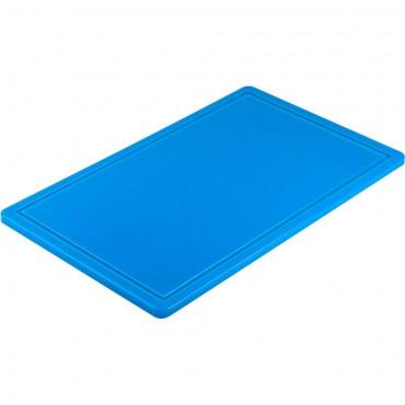 Deska do krojenia HACCP, GN 1/1 niebieska