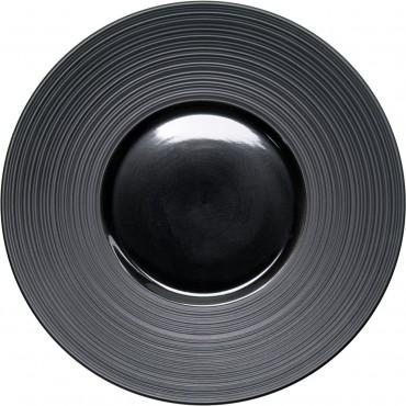 Talerz płytki rant żebrowany 310 mm