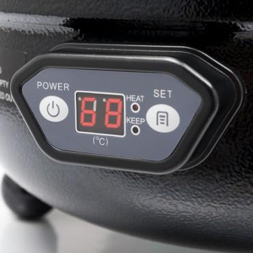 Kociołek elektryczny do zupy 9l panel elektroniczny