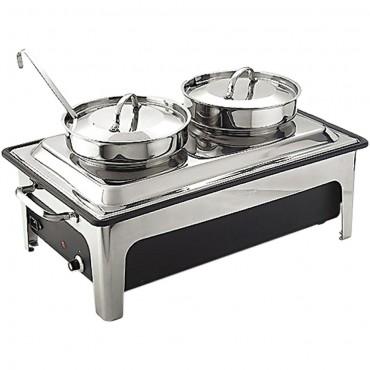 Podgrzewacz elektryczny z kociołkami do zup 2x4 l