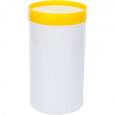 Dyspenser barmański 1 l żółty