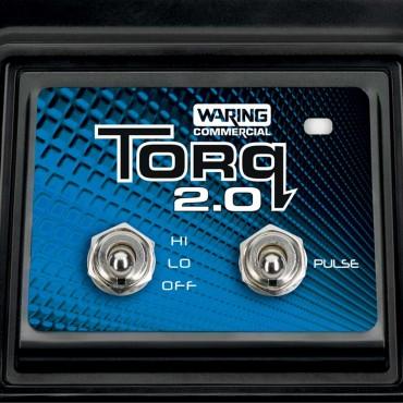 Blender barmański, Torq, manualny panel sterowania, V 1.4 l