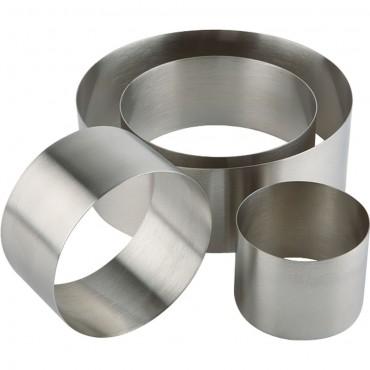 Pierścień cukierniczo-kucharski d 80 mm h 45 mm