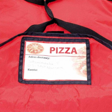 Torba termoizolacyjna do pizzy, 550x500x200 mm