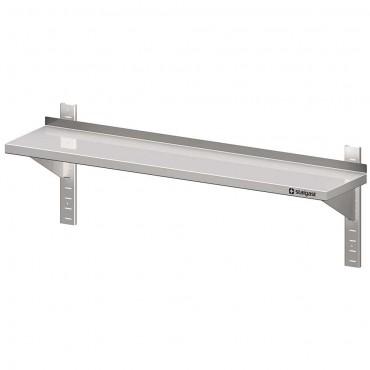 Półka stalowa, wisząca, przestawna, pojedyńcza, 1200x300x400 mm