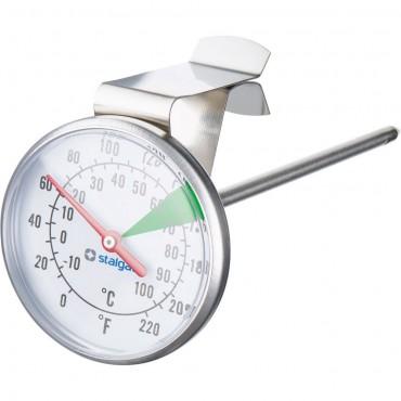 Termometr do mleka z klipsem, L 110 mm