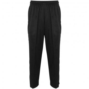 Spodnie kucharskie, unisex, czarne, rozmiar L