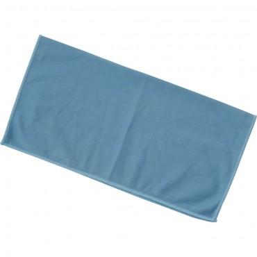 Ścierka z mikrofibry, do szkła, niebieska