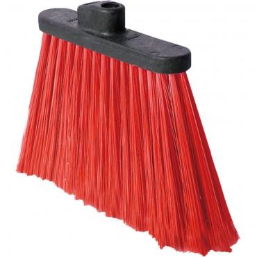 Szczotka, miotła, czerwona, 320x46x220 mm