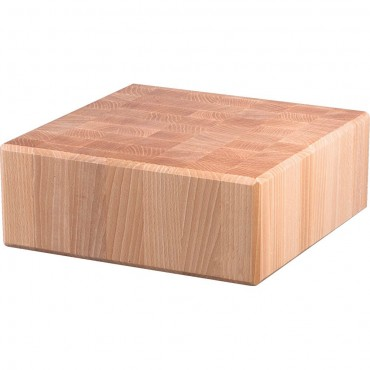 Kloc masarski drewniany 400x500x100 mm