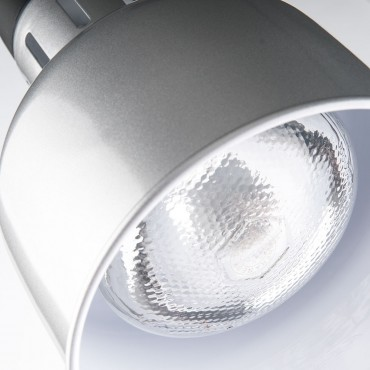 Lampa do podgrzewania potraw wisząca, srebrna, P 0.25 kW, U 230 V