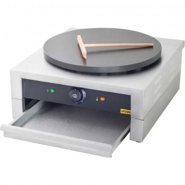 Naleśnikarka, płyta żeliwna z powłoką ceramiczną, P 3 kW, U 230 V