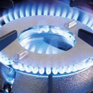 Taboret gazowy, podwójny, Top line, 2x9 kW, G20