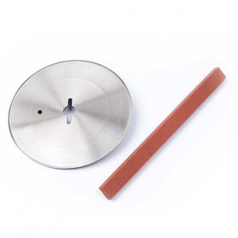 Nóż elektryczny do kebaba, czerwony, nóż Ø 100 mm, P 0.08 KW