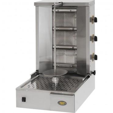 Gyros, kebab gazowy, GD 40G, P 7 kW, G 20/30