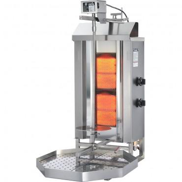 Gyros, kebab gazowy, GD 2, P 7 kW, G 30
